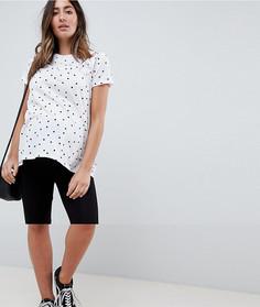 Классические шорты-леггинсы ASOS DESIGN Maternity - Черный