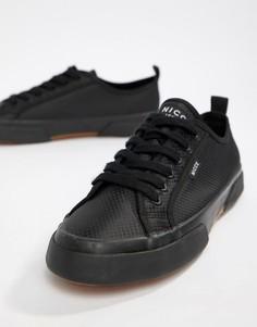 Черные кроссовки с логотипом Nicce - Черный