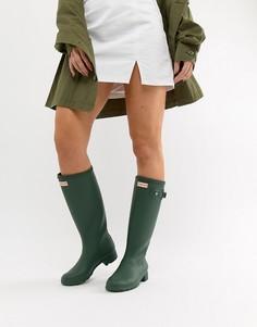 Резиновые сапоги Hunter Original Tour - Зеленый
