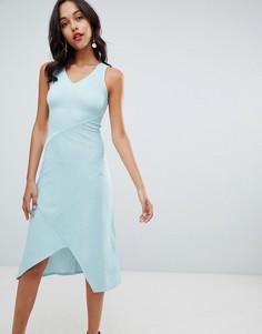 Платье миди Closet London - Зеленый
