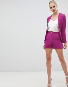 Розовые шорты Vesper tailored - Розовый
