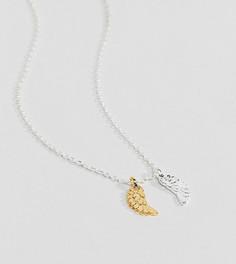 Посеребренное ожерелье с подвеской Estella Bartlett - Серебряный