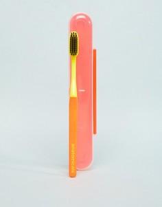 Зубная щетка с древесным углем Anatomicals And Aint That The Tooth The Better Brush - Оранжевый - Бесцветный