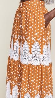 Miguelina Carolina Midi Skirt