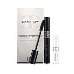 DIOR Набор тушь Diorshow черная, база для туши Diorshow Maximizer 3D № 090 Black, 10 мл + 4 мл
