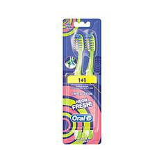 ORAL-B Зубная щетка Neon Fresh 40 Мягкая 2 шт.