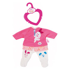 "Одежда для куклы My little BABY born ""Розовый костюмчик"", 32 см Zapf Creation"
