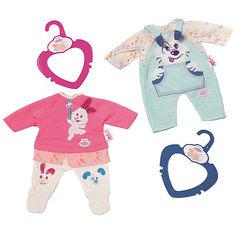 """Одежда для куклы My little BABY born """"Голубой  костюмчик"""", 32 см Zapf Creation"""
