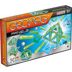 Магнитный конструктор Geomag Panels, 83 детали