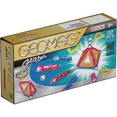 Магнитный конструктор Geomag Glitter, 22  детали