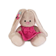 Мягкая игрушка Budi Basa Зайка Ми в розовом сарафанчике и ромашкой на ушке, 15 см