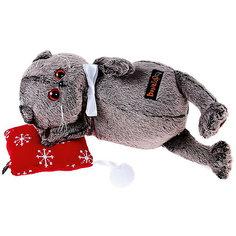 Мягкая игрушка Budi Basa Кот Басик на подушке, 26 см