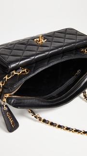 What Goes Around Comes Around Chanel Caviar Pocket Shoulder Bag
