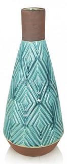 Ваза настольная (28 см) Aquamarine 241334 Home Philosophy