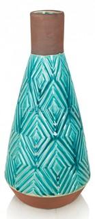 Ваза настольная (38 см) Aquamarine 241337 Home Philosophy