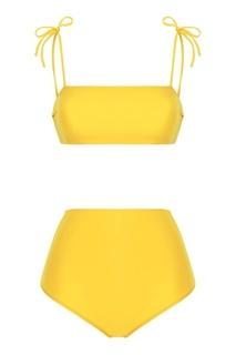 Желтый купальник Bronislava Bodypoetry
