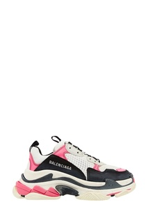 Контрастные кроссовки Triple S Balenciaga