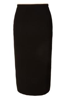 Черная юбка-карандаш No.21