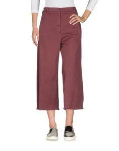 Джинсовые брюки-капри Brunello Cucinelli