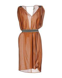Платье до колена Nude