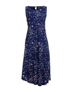 Платье до колена Blue Blue Japan