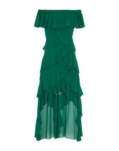 Длинное платье Badgley Mischka