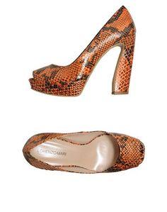 Туфли с открытым носком Lorenzo Mari