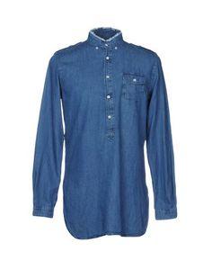Джинсовая рубашка Wooster + Lardini