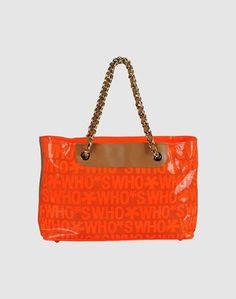 Большая кожаная сумка Who*S WHO