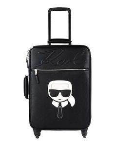 Чемодан/сумка на колесиках Karl Lagerfeld