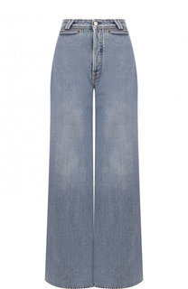 Расклешенные джинсы с потертостями Acne Studios