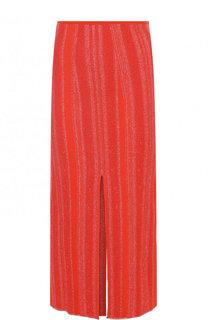 Вязаная юбка-миди с разрезами Proenza Schouler