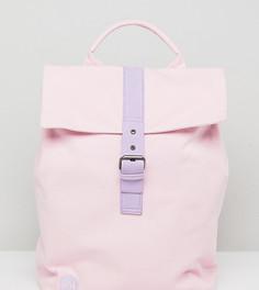 Парусиновый рюкзак с откидным верхом (розоватый/сиреневый) эксклюзивно для Mi-Pac - Розовый