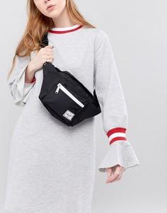 Черная сумка-кошелек на пояс Herschel Seventeen - Черный