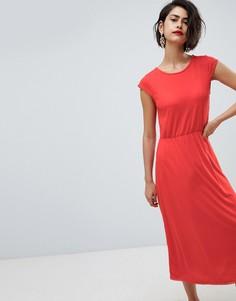 Платье миди Vero Moda - Красный