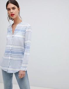 Легкая рубашка в полоску Esprit - Мульти