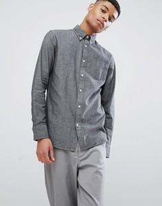 Рубашка с длинными рукавами Selected Homme - Серый