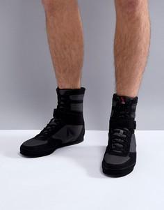 Черные кроссовки Reebok Combat Boxing CN0977 - Черный