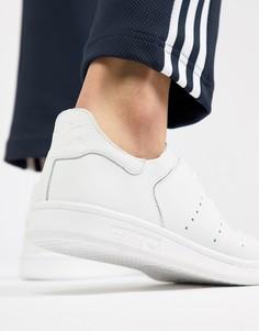 Белые кроссовки adidas Originals Stan Smith Lea Sock CQ3031 - Белый
