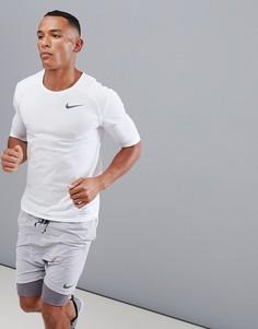Белая футболка Nike Running 892843-100 - Белый