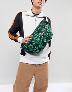 Черная сумка-кошелек на пояс с принтом Nike Football Nigeria BA5771-010 - Черный
