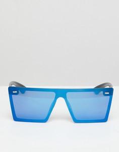 Квадратные солнцезащитные очки 7X Futuristic - Синий