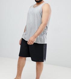 Черные шорты для плавания Nike Plus Volley NESS8401-001 - Черный