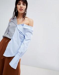Рубашка в полоску Walter Baker - Синий