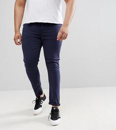 Темно-синие джинсы скинни ASOS DESIGN Plus - Темно-синий