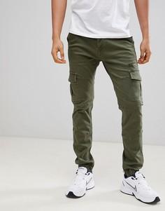 Зауженные брюки-карго с манжетами Voi Jeans - Белый