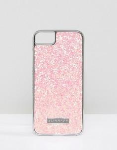 Чехол для iPhone 6/7/8/s с блестками Skinnydip Passion - Розовый