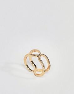 Кольцо на большой палец ASOS DESIGN - Золотой