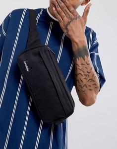 Черная сумка-кошелек на пояс Spiral - Черный
