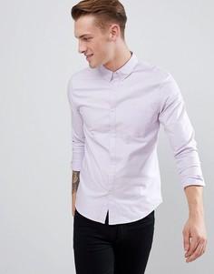 Сиреневая оксфордская рубашка классического кроя New Look - Фиолетовый